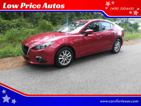 2015 Mazda MAZDA3 for sale at Low Price Autos in Beaumont TX