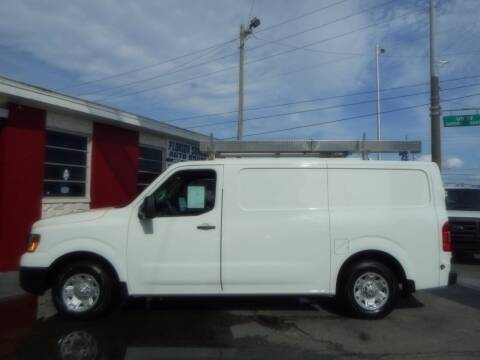 2013 Nissan NV Cargo for sale at Florida Suncoast Auto Brokers in Palm Harbor FL