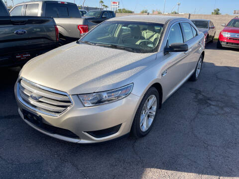 2018 Ford Taurus for sale at Town and Country Motors in Mesa AZ