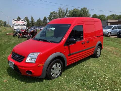 2013 Ford Transit Connect for sale at COUNTRYSIDE AUTO INC in Austin MN