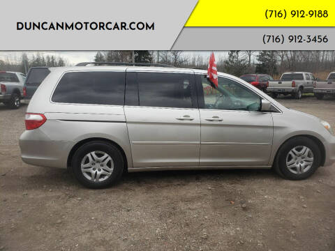 2007 Honda Odyssey for sale at DuncanMotorcar.com in Buffalo NY