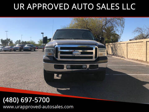 2006 Ford F-250 Super Duty for sale at UR APPROVED AUTO SALES LLC in Tempe AZ