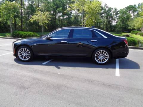 2017 Cadillac CT6 for sale at BALKCUM AUTO INC in Wilmington NC