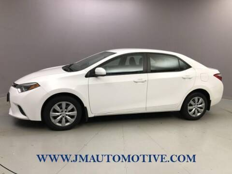 2016 Toyota Corolla for sale at J & M Automotive in Naugatuck CT