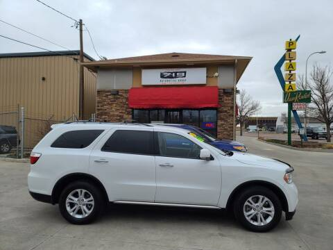 2013 Dodge Durango for sale at 719 Automotive Group in Colorado Springs CO