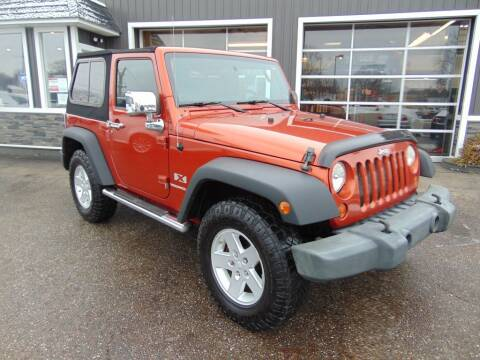 2009 Jeep Wrangler for sale at Akron Auto Sales in Akron OH