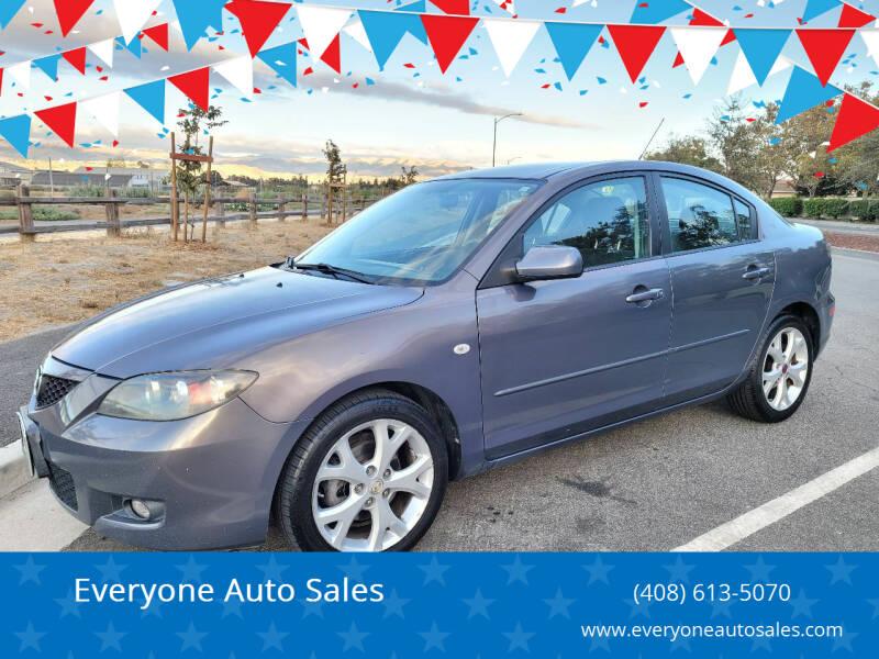 2009 Mazda MAZDA3 for sale at Everyone Auto Sales in Santa Clara CA