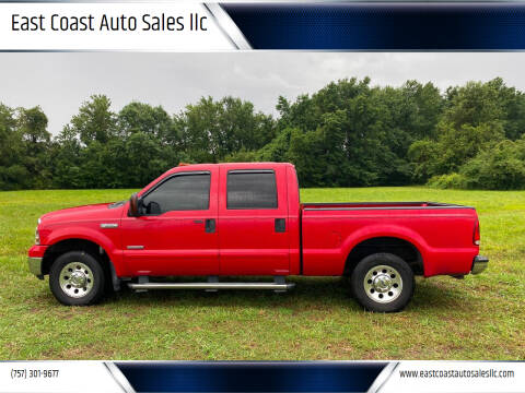 2006 Ford F-250 Super Duty for sale at East Coast Auto Sales llc in Virginia Beach VA