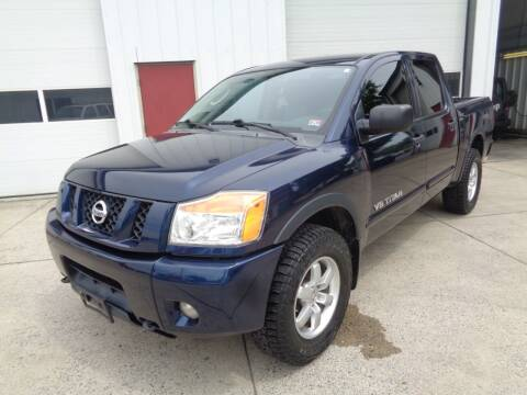 2010 Nissan Titan for sale at Lewin Yount Auto Sales in Winchester VA