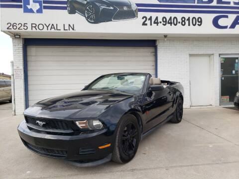 2011 Ford Mustang for sale at Best Royal Car Sales in Dallas TX