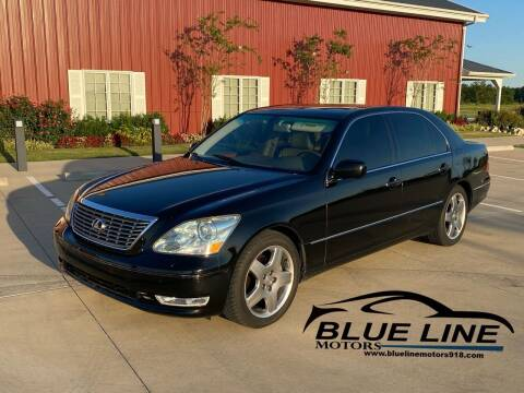 2005 Lexus LS 430 for sale at Blue Line Motors in Bixby OK