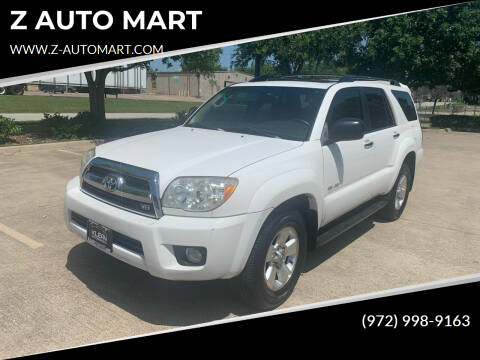 2006 Toyota 4Runner for sale at Z AUTO MART in Lewisville TX