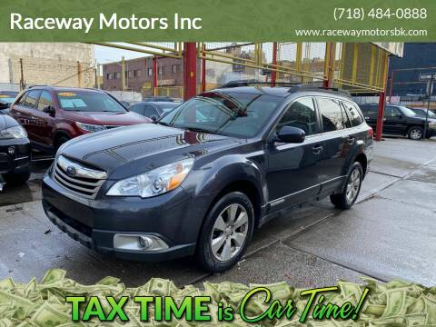 2012 Subaru Outback for sale at Raceway Motors Inc in Brooklyn NY