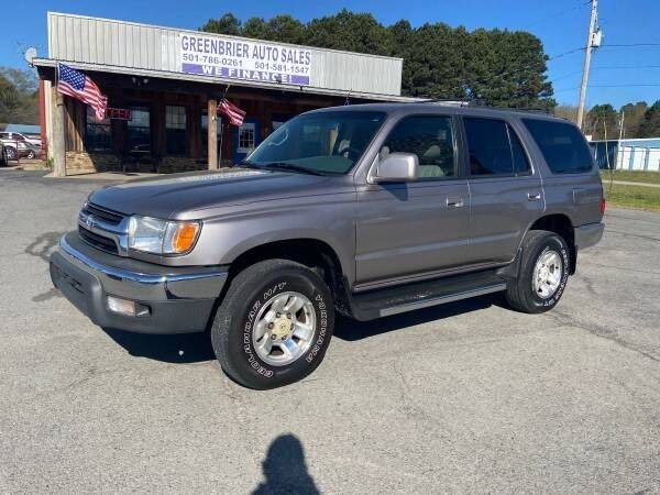 2002 Toyota 4Runner for sale at Greenbrier Auto Sales in Greenbrier AR