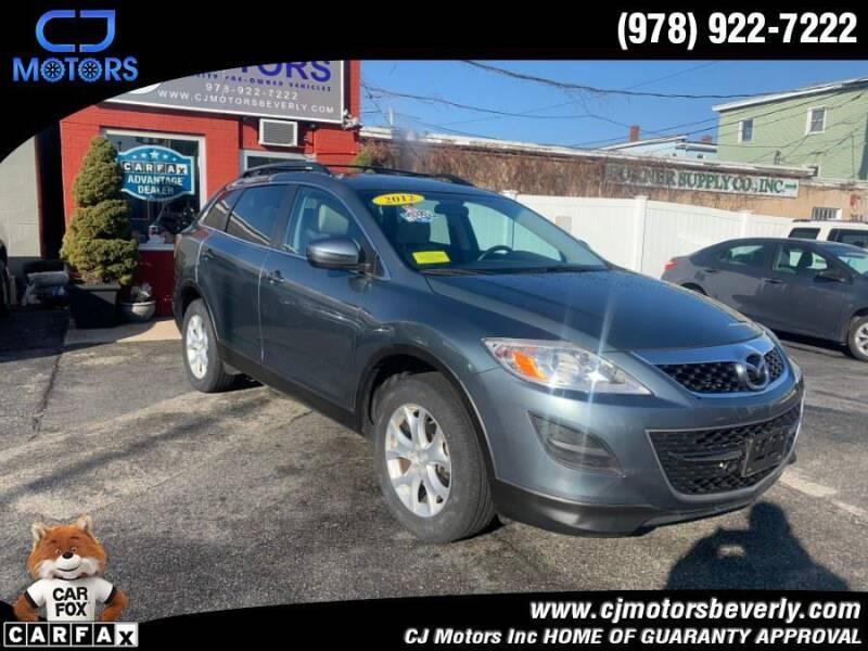 2012 Mazda CX-9 for sale at CJ Motors Inc. in Beverly MA