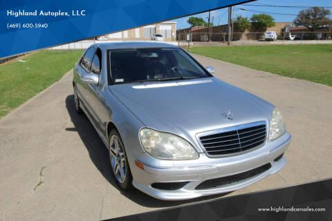 2006 Mercedes-Benz S-Class for sale at Highland Autoplex, LLC in Dallas TX