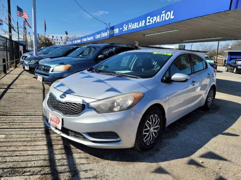 2015 Kia Forte for sale at JR Auto Inc in San Antonio TX