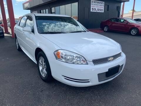 2013 Chevrolet Impala for sale at JQ Motorsports East in Tucson AZ
