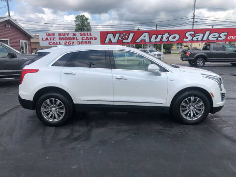 2018 Cadillac XT5 for sale at N & J Auto Sales in Warsaw IN