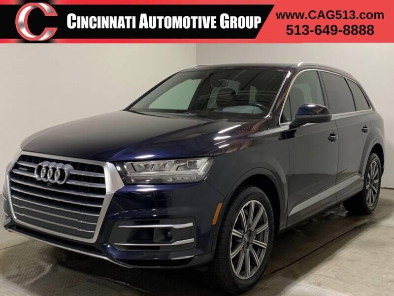 2017 Audi Q7 for sale at Cincinnati Automotive Group in Lebanon OH