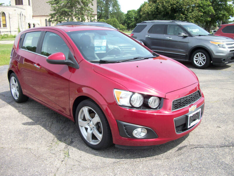 2012 Chevrolet Sonic for sale at USED CAR FACTORY in Janesville WI