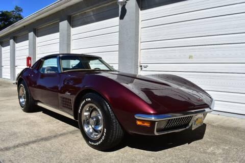1970 Chevrolet Corvette for sale at Advantage Auto Group Inc. in Daytona Beach FL