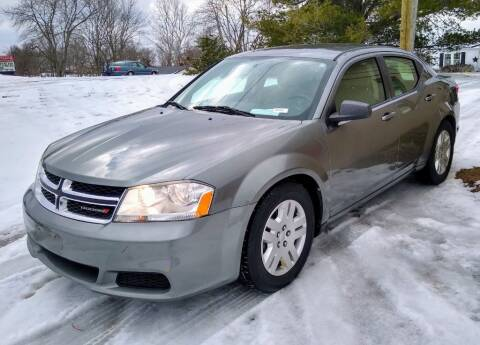 2013 Dodge Avenger for sale at Dealz on Wheelz in Ewing KY