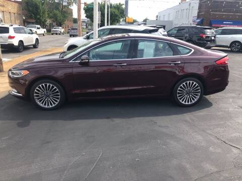 2017 Ford Fusion for sale at N & J Auto Sales in Warsaw IN
