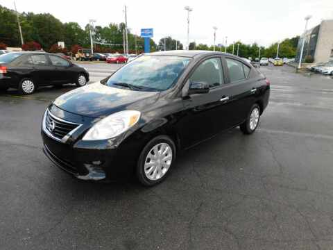 2012 Nissan Versa for sale at Paniagua Auto Mall in Dalton GA