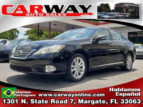 2010 Lexus ES 350 for sale at CARWAY Auto Sales in Margate FL