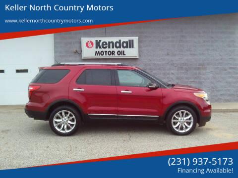 2014 Ford Explorer for sale at Keller North Country Motors in Howard City MI