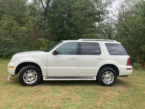 2004 Mercury Mountaineer for sale at Expressway Auto Auction in Howard City MI