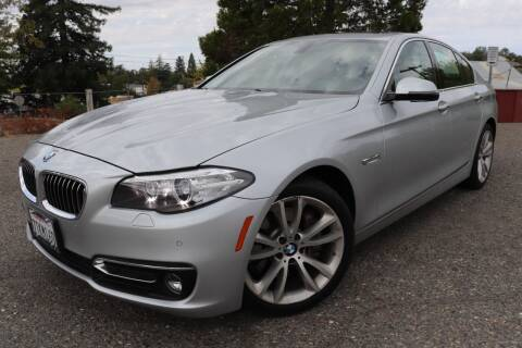 2016 BMW 5 Series for sale at California Auto Sales in Auburn CA
