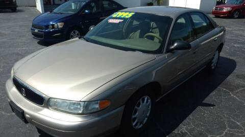 2003 Buick Century for sale at AFFORDABLE AUTO SALES in We Finance Everyone! FL