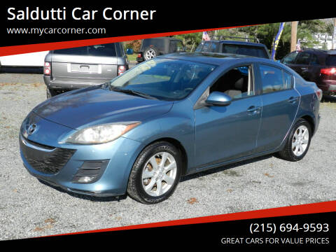 2010 Mazda MAZDA3 for sale at Saldutti Car Corner in Gilbertsville PA