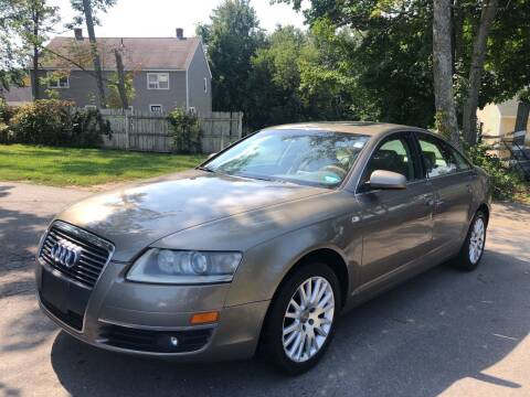 2006 Audi A6 for sale at J's Auto Exchange in Derry NH