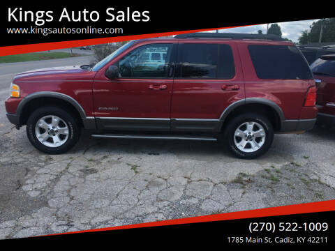 2005 Ford Explorer for sale at Kings Auto Sales in Cadiz KY