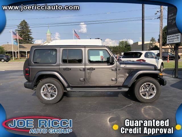 2019 Jeep Wrangler Unlimited for sale in Marlette, MI