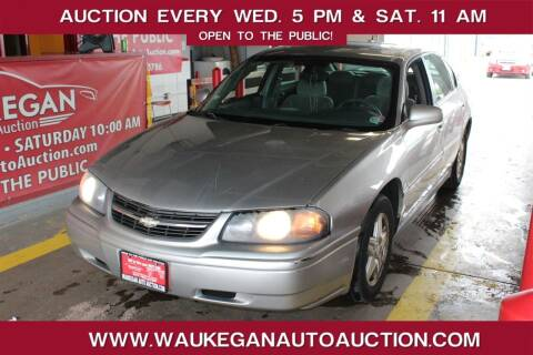 2005 Chevrolet Impala for sale at Waukegan Auto Auction in Waukegan IL
