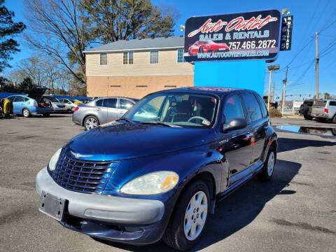 2001 Chrysler PT Cruiser for sale at Auto Outlet Sales and Rentals in Norfolk VA