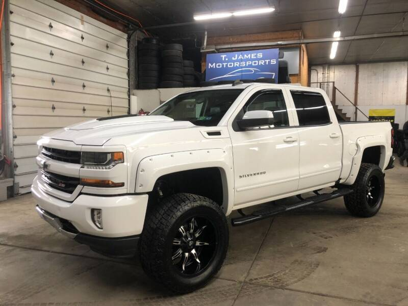 2017 Chevrolet Silverado 1500 for sale at T James Motorsports in Gibsonia PA