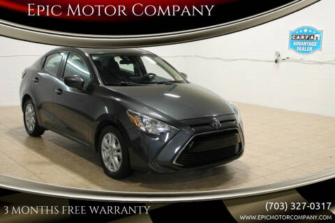 2017 Toyota Yaris iA for sale at Epic Motor Company in Chantilly VA