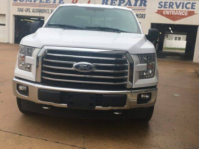 2017 Ford F-150 for sale at PERL AUTO CENTER in Coffeyville KS
