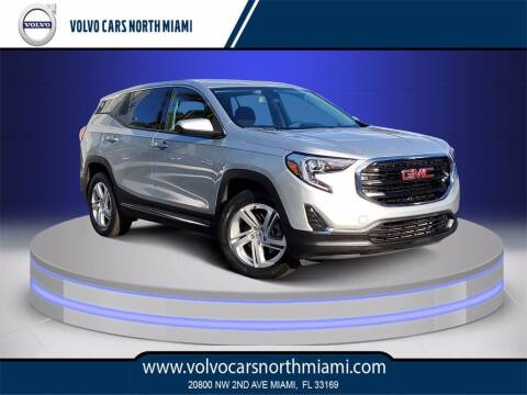 2018 GMC Terrain for sale at Volvo Cars North Miami in Miami FL