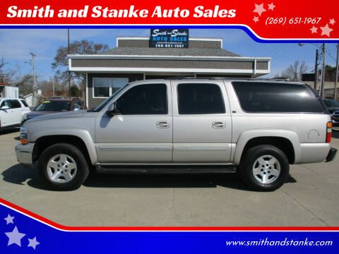 2004 Chevrolet Suburban for sale at Smith and Stanke Auto Sales in Sturgis MI