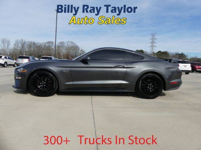 2019 Ford Mustang for sale at Billy Ray Taylor Auto Sales in Cullman AL