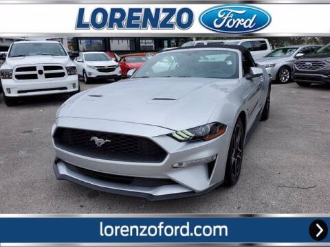 2019 Ford Mustang for sale at Lorenzo Ford in Homestead FL