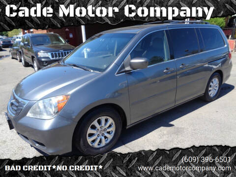 2010 Honda Odyssey for sale at Cade Motor Company in Lawrence Township NJ