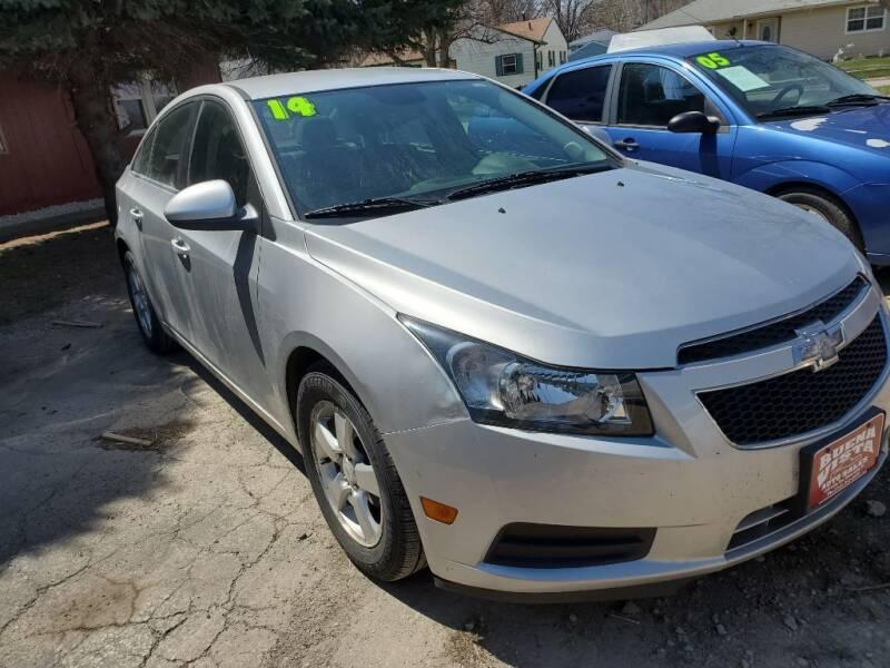 2014 Chevrolet Cruze for sale at Buena Vista Auto Sales in Storm Lake IA