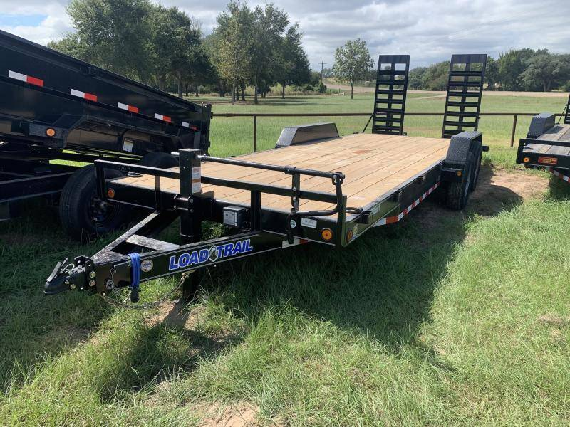 2022 Load Trail XH8322 83X22 LOWBOY 14K STAND  for sale at The Trailer Lot in Hallettsville TX